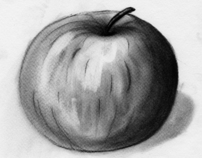 Charcoal fruit