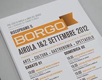 Riscopriamo Il Borgo - Event Identity