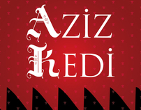 Logo / Aziz Kedi Kitabevi / Bookstore