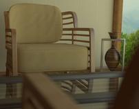 3D Flax Room