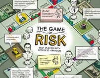 TH!NK Magazine: The Game of Risk Illustration
