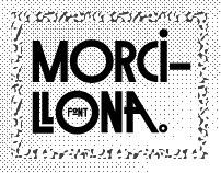 MORCILLONA font
