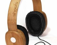 Shoots Bamboo Headphones
