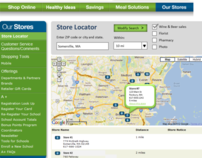 Prototype of Grocery Store Locator