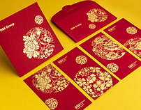 OSK Chinese New Year Packet & Greeting Card 2016&2018