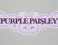 Purple Paisley Slate
