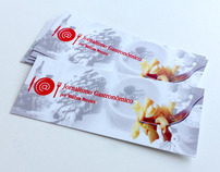 Business card Jornalismo Gastronômico