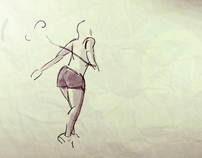 Running Woman Rotoscoping Test