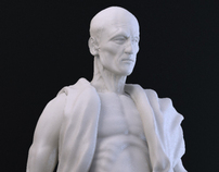 st. Bartholomew sculpture