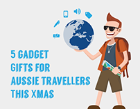 5 Travel Gadget Gifts For Aussie Travellers