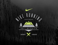 Nike Running Event Materials