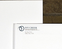 Ivy Creek Investments Logo and Stationary