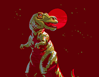 Daily Illustration — Part IV: Dinosaurs