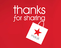 Thanks for Sharing 2014 - Macy's