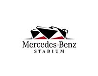 Mercedes-Benz Stadium | Social & Print Graphic Design