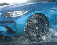 BMW Slow motion CG