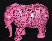 Polyester doodle sculptures