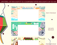 evoMAG ,,Festival of Discounts'' theme