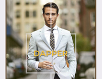 Dappered - Monthly Clothing Subscription Concept