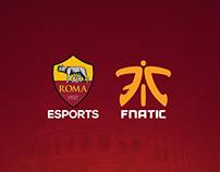 AS Roma Esports rebrand