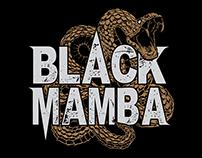 Black Mamba – illustration + label design