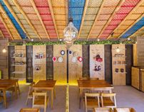 Café Galería Intiñan - Furniture and Interior design