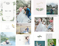 Prewedding Photobook Design, photo by HOP