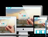IKT PLASTIC landing page design