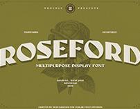 ROSEFORD FONT