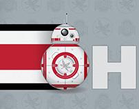 Star Wars BB-8 • Ohio State Buckeyes