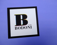 B is for Bodoni