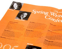 Spring Writer's Conference