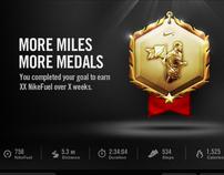Nike + Goal Cards