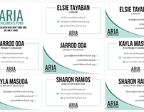 ARIA Children's Fund: Business Card & Letterhead