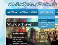Auslandsjahr.org Website Design