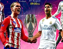 European Super Cup Real Madrid vs Atletico Madrid
