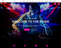 Music Mania Studio Website