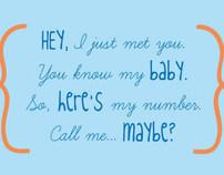 Mom calling card