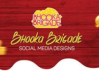 Bhooka Brigade | Social Media Designs