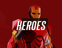 Heroes :: Mobile Concept