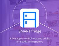 SMART fridge app