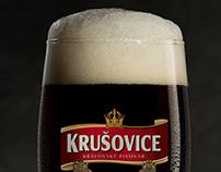 Фотосъемка пива. Beer. Krusovice