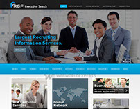 RGF Executive Search - Website Development