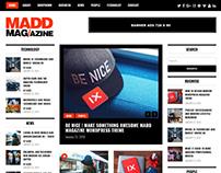 Madd Magazine WordPress Theme Free