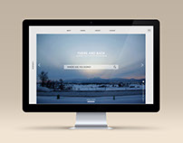 """There and Back"", Website for travelling students"