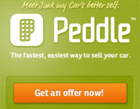 Peddle Mobile Website