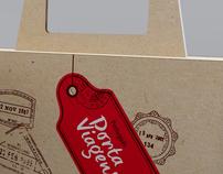 Texto - Porta Viagens - Book Box