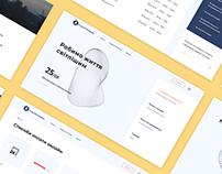 Kyivoblenergo - redesign website