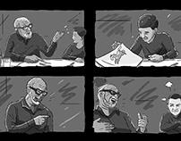 Teasing Grandpa 'Glass of Milk' Storyboard 😂🥛