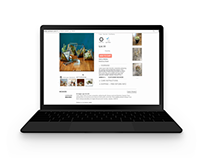 West Elm microsite: a curated shopping experience